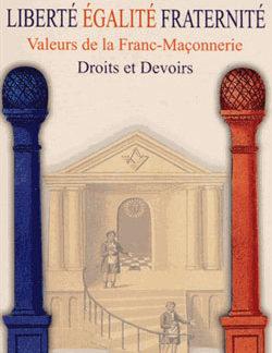 Liberte egalite fraternite - Pelle Le Croisa Pierre