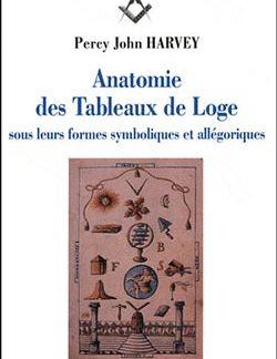 Anatomie des tableaux de loge sous leurs formes symboliques et allegoriques - Harvey Percy John